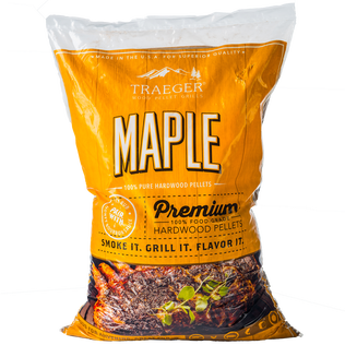 bag of traeger maple pellet grill starters spa brokers