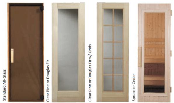 24 x 72 window sauna doors and steam denver