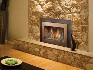 33 dvi fireplace with large stone insert spa brokers