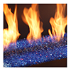 small close up photo of flames with glass Xtrordinair 31 DVI Spa Brokers