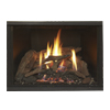 small photo of gas fireplace flame Spa Brokers