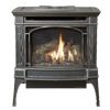small photo of Berkshire model traditional black gas stove Spa Brokers