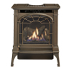 small photo of traditional black gas stove Lopi Spa Brokers