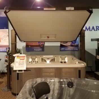 Covana Horizon Hot Tub Cover Open spa brokers