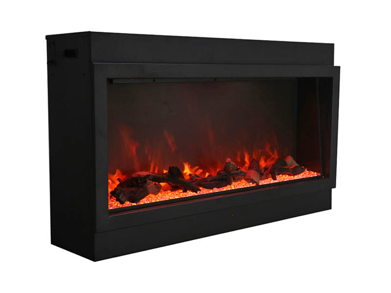 amantii yellow and orange flames electric fireplace Spa Brokers