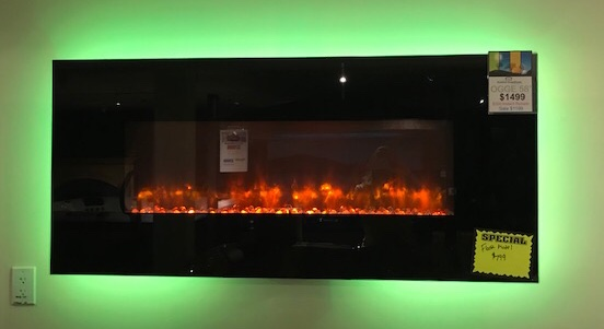 OUTDOOR GREATROOM 58″ ELECTRIC FIREPLACE