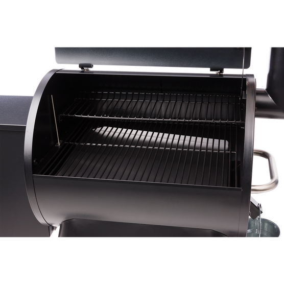 inside view of traeger grill pro series 22 pellet grill spa brokers