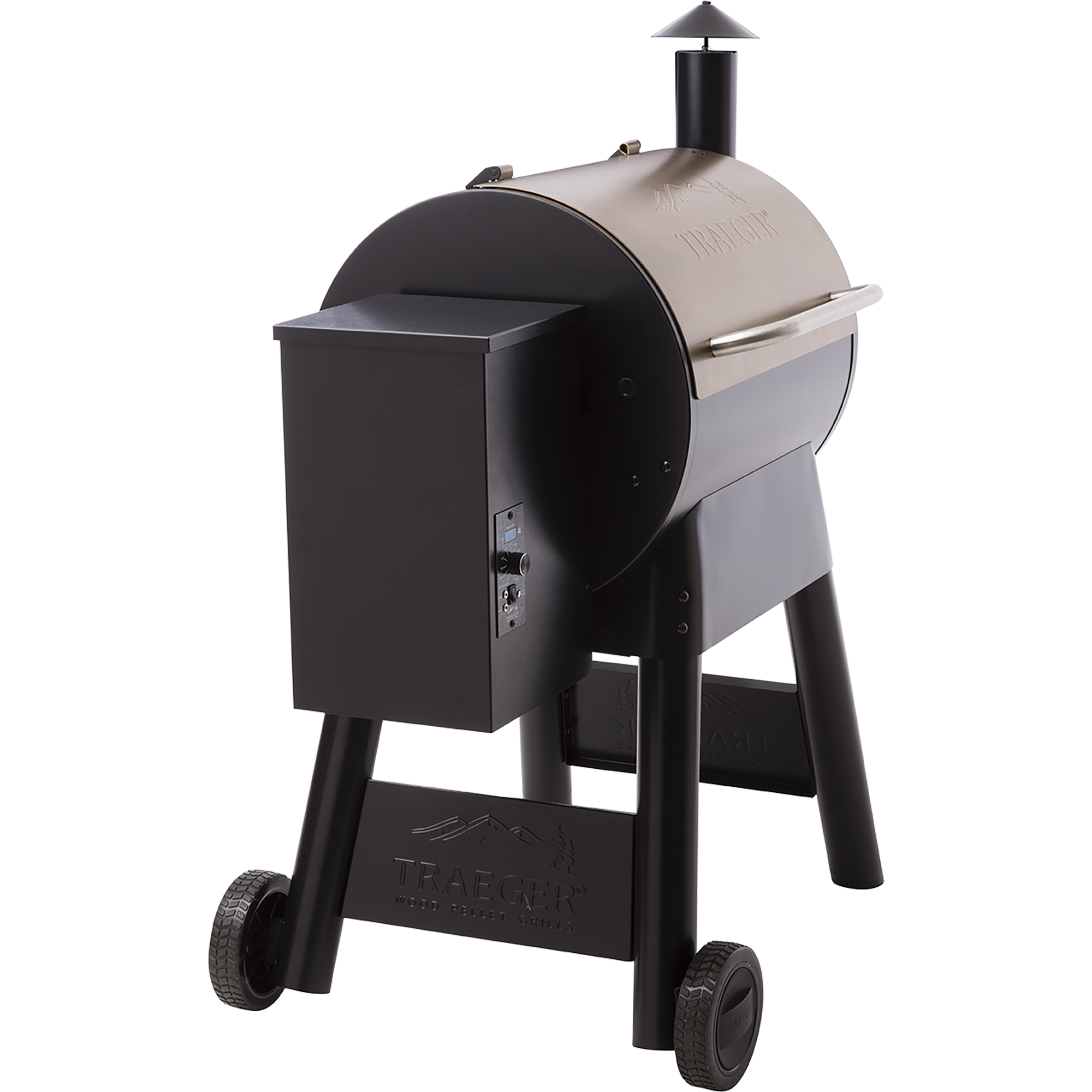 outside view of traeger grill pro series 22 pellet grill spa brokers