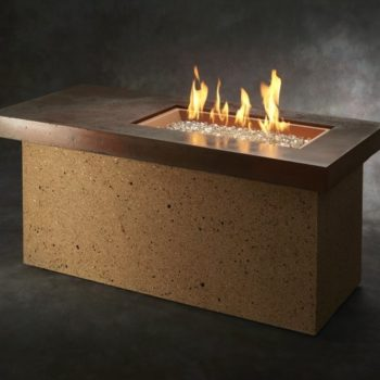 contemporary artisan fire table Spa Brokers