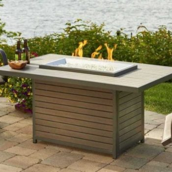 brooks gray fire pit outdoors spa brokers
