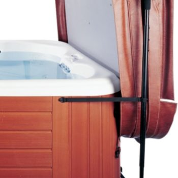 Leisure Concepts brown CoverMate easier to cover hot tub spa brokers