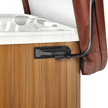 Leisure Concepts - brown CoverMate easier to cover hot tub spa brokers