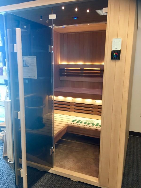 Finnelo Sauna indoor space spa brokers
