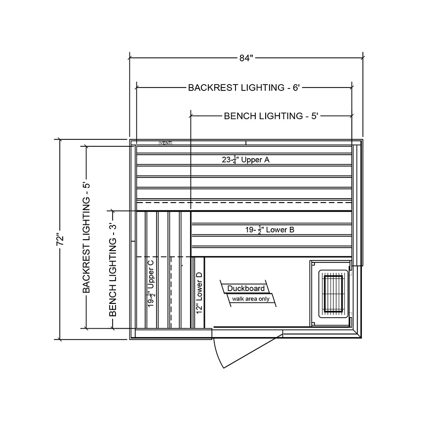 drawings of finnleo twilight sauna Spa Brokers
