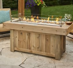 linear vintage 1242 fire table spa brokers