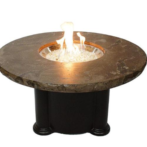 marbleized noche fire pit spa brokers