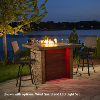 marquee fire pit stand alone spa brokers