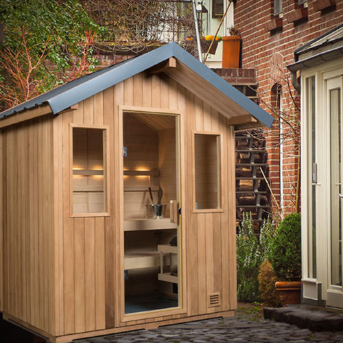 finnleo outdoor sauna Spa Brokers