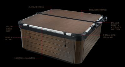smart top hot cover on spa Spa Brokers Denver