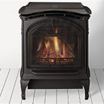 traditional black gas stove Tiara Spa Brokers