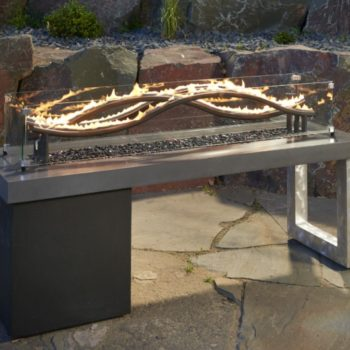 wave gas outdoor fire pit spa brokers