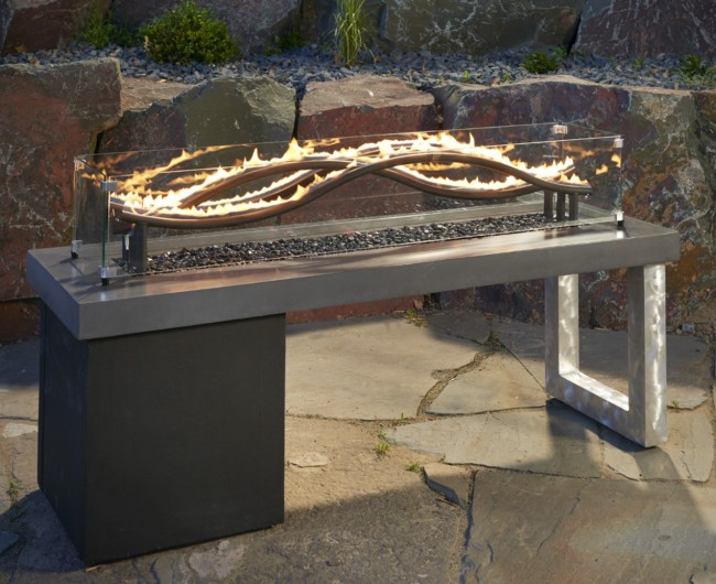The Wave Gas Fire Pit Spa Brokers