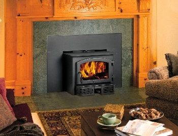 fireplace wood insert by republic black spa brokers