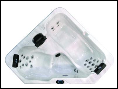 Cal Spas Z628T Hot Tub